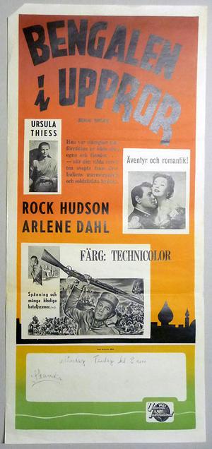 BENGALEN I UPPROR (1954)
