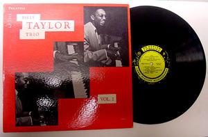 Taylor, Billy - Trio - Vol.2 Lp US 1958