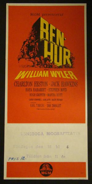 BEN-HUR (CHARLTON HESTON, JACK HAWKINS)