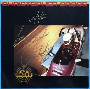 CHRISTOPHER CROSS - Every turn of the world SIGNERAD LP 1985
