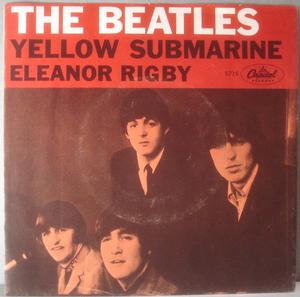 "BEATLES - Yellow Submarine 7"" US 1966 PS"