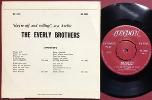 EVERLY BROTHERS - Wake up little Susie Swe EP 1958