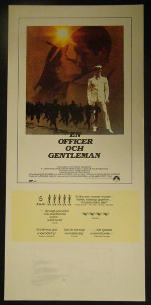 EN OFFICER OCH GENTLEMAN (RICHARD GERE)