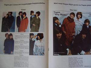 "BILDJOURNALEN no 36 1965 ""ELEPHANT""-poster"