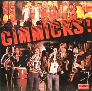GIMMICKS Music is what we like to play 1974 LP