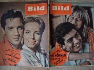 BILDJOURNALEN no 31 1964 ELVIS / Paul Anka