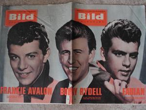Bildjournalen nr 42 1961 Fabian / Frankie Avalon