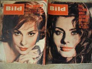 Bildjournalen no 8 1962 Sophia Loren/Gina Lollobrigida