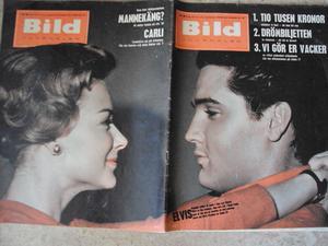 Bildjournalen no 38 1961 Elvis / Hope Lange