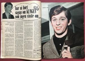 BILDJOURNALEN - nr 13 1965 JOHNNY HALLYDAY
