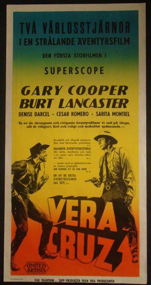VERA CRUZ (GARY COOPER, BURT LANCASTER)