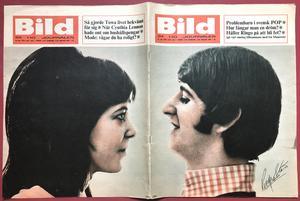 BILDJOURNALEN - no 24 1965 BEATLES Ringo cover
