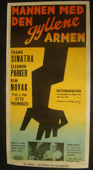 THE MAN WITH THE GOLDEN ARM (FRANK SINATRA, ELEANOR PARKER, KIM NOVAK)