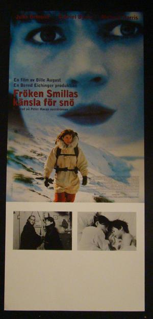 FRÖKEN SMILLAS KÄNSLA FÖR SNÖ (JULIA ORMOND, GABRIEL BYRNE, RICHARD HARRIS)