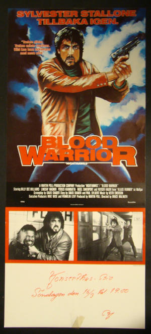 BLOOD WARRIOR (SYLVESTER STALLONE)
