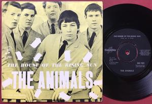 ANIMALS - House of the rising sun Swe YELLOW PS 1964