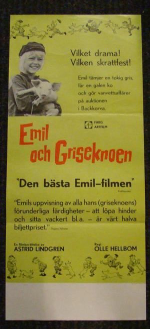 EMIL OCH GRISEKNOEN (ASTRID LINDGREN)