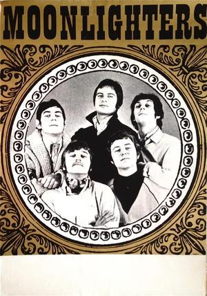 MOONLIGHTERS (1967-68) - Turneaffisch