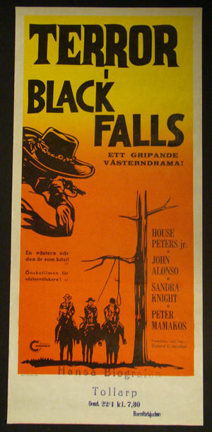 TERROR AT BLACK FALLS (JOHN ALONSO, SANDRA KNIGHT)