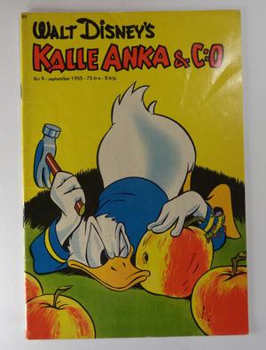 KALLE ANKA Nr 9 1955