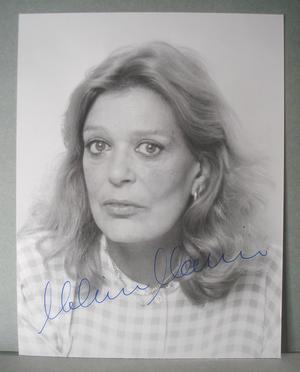 MELINA MERCOURI Äkta autograf på äkta foto !