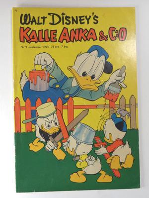 KALLE ANKA Nr 9 1954