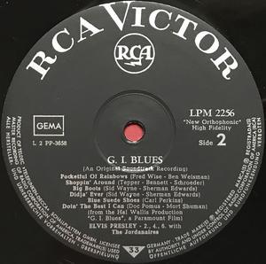 ELVIS PRESLEY - G.I. Blues German LP 1960