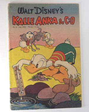 KALLE ANKA Nr 5  1953