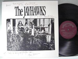 JAYHAWKS s/t US-orig LP 1986 SIGNERAD av alla!