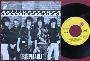 """ROLLING STONES - """"Respetable"""" Spansk PS 1978"""