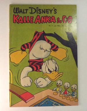 KALLE ANKA Nr 7  1954
