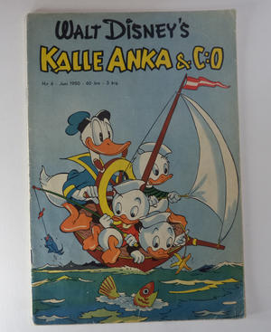 KALLE ANKA Nr 6  1950