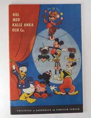 KUL MED KALLE ANKA OCH Co. 1950
