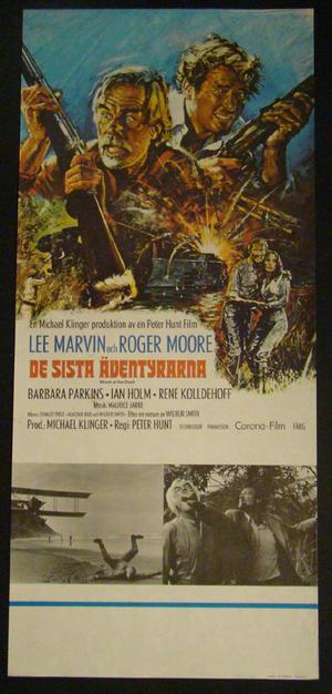 SHOUT AT THE DEVIL (LEE MARVIN, ROGER MOORE)