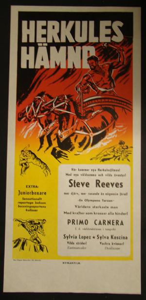 HERKULES REVENGE (STEVE REEVES)