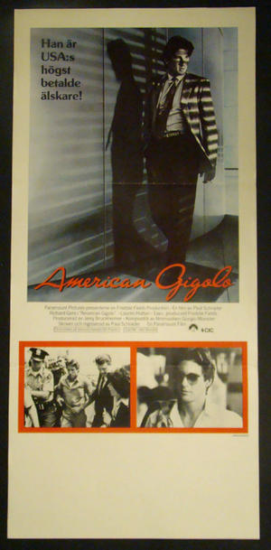 AMERICAN GIGOLO (RICHARD GERE, LAUREN HUTTON)