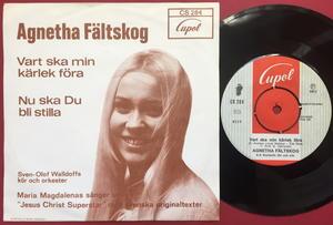 AGNETHA FÄLTSKOG - Vart ska min kärlek föra Swe PS 1972