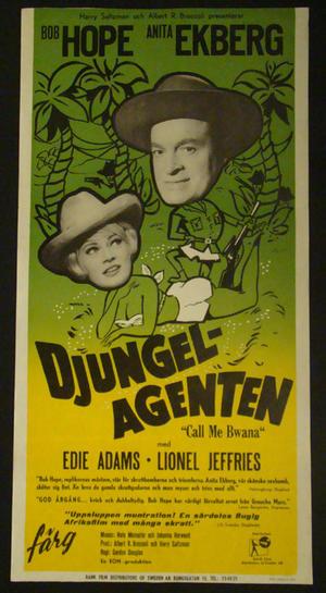 DJUNGELAGENTEN (1963)