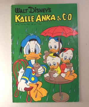 KALLE ANKA Nr 6  1956