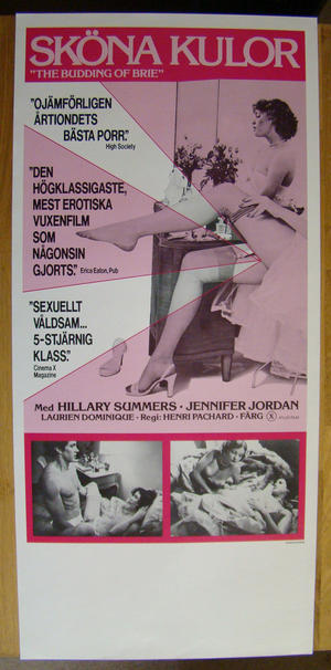 "The budding of brie"" with Hillary Summers (1970´s)"