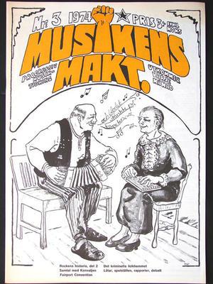 MUSIKENS MAKT no 3, 1974