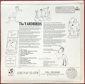 YARDBIRDS - Roger the engineer UK-orig Mono LP 1966