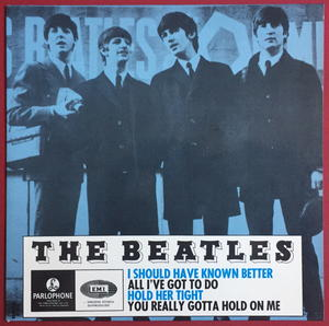BEATLES -  I should have known better + 3 EP Swe-64 PS ONLY - Archive copy / MINT-!