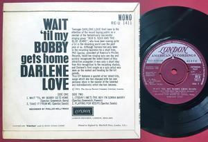 DARLENE LOVE - Wait ´til my Bobby gets home +3 UK EP 1963