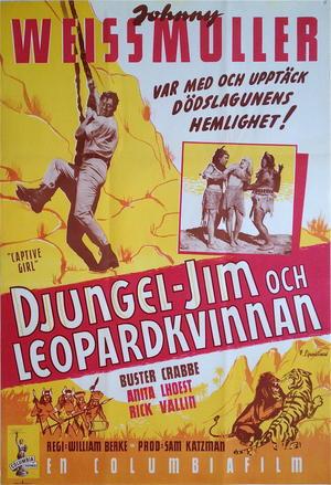 DJUNGEL-JIM & LEOPARDKVINNAN (1950)