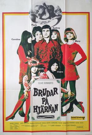 BRUDAR PÅ HJÄRNAN (1968)