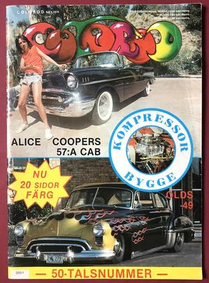 COLOROD - Nr 1 1979 ALICE COOPER cover