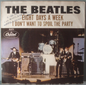 "BEATLES - Eight days a week 7"" US 1965 PS"