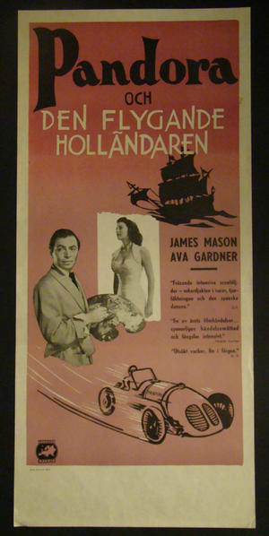 PANDORA AND THE FLYING DUTCHMAN (JAMES MASON, AVA GARDNER)
