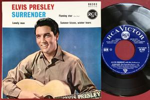 ELVIS PRESLEY - Surrender + 3 French EP 1961 M-!